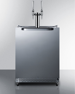 SBC695OSNCFTWIN Kegerator Front