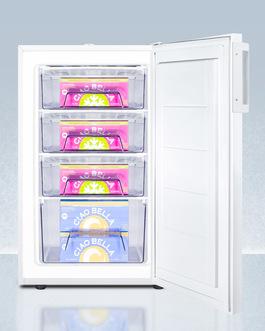 FS407LBI7NZADA Freezer Full