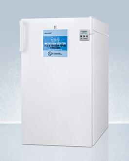 FS407LBI7NZADA Freezer Angle