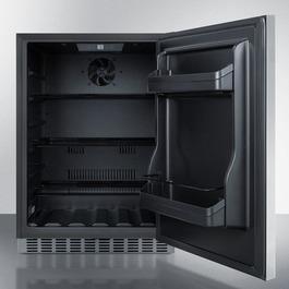 CL67ROSB Refrigerator Open