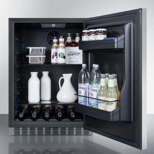 CL67ROSB Refrigerator Full