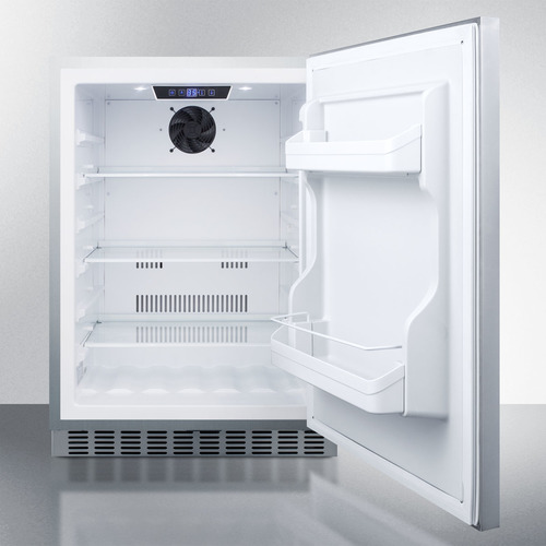 CL69ROSW Refrigerator Open