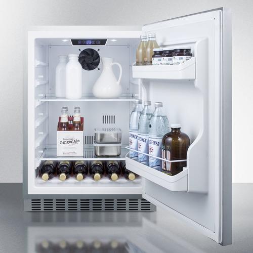 CL69ROSW Refrigerator Full