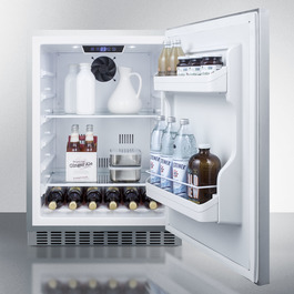 CL69ROSW Refrigerator Full