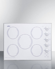 CR5B274W Electric Cooktop Front