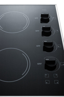CR425BL Electric Cooktop Detail