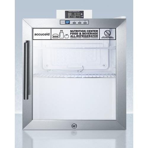 SCR215LNZ Refrigerator Front