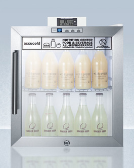 SCR215LNZ Refrigerator Open