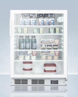 SCR600LBINZADA Refrigerator Full