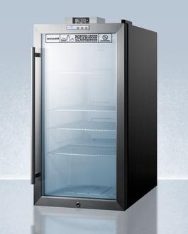 SCR486LNZ Refrigerator Angle