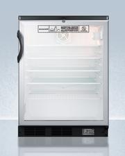 SCR600BGLNZ Refrigerator Front