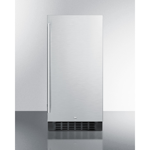 ALR15BCSS Refrigerator Front
