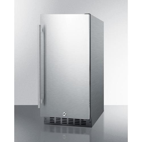 ALR15BCSS Refrigerator Angle