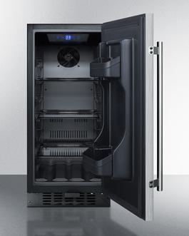 ALR15BCSS Refrigerator Open