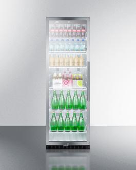 SCR1400WLHCSS Refrigerator Full