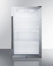 SCR489OS Refrigerator Front