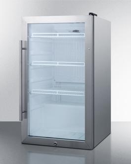 SCR489OSCSS Refrigerator Angle