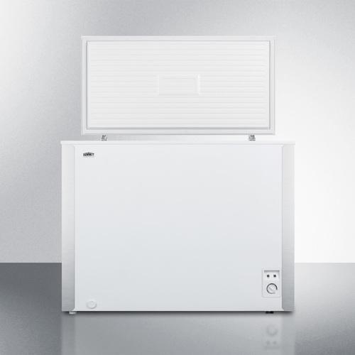 SCFM62 Freezer Open
