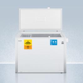 VLT850 Freezer Open