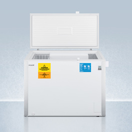 VLT850IB Freezer Open