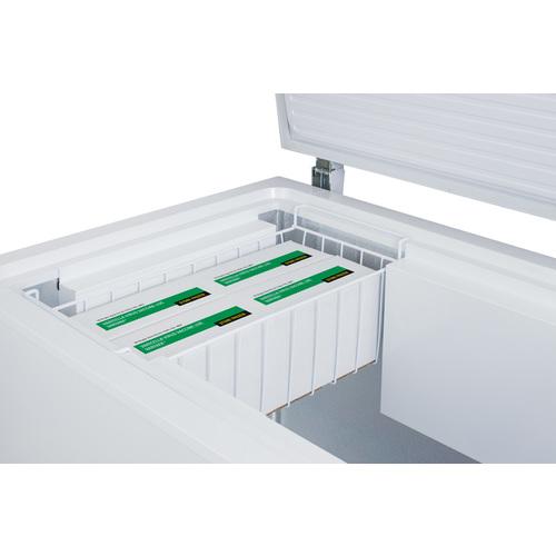 VT175IB Freezer Detail