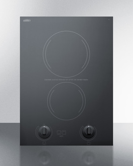 CREK2B Electric Cooktop Front