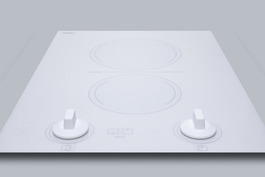 CREK2W Electric Cooktop Detail