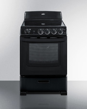 REX2431B Electric Range Front