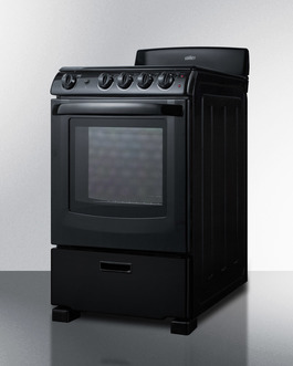 REX2431B Electric Range Angle