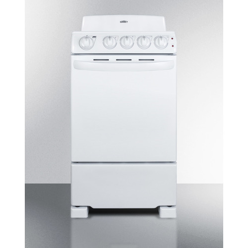 RE203W Electric Range Front