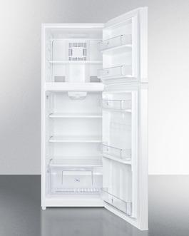 FF1427W Refrigerator Freezer Open