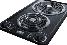CCE212BL Electric Cooktop Detail