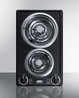 CCE212BL Electric Cooktop Front