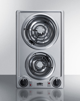 CCE213SS Electric Cooktop Front