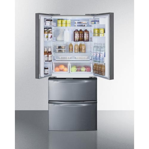 FDRD15SS Refrigerator Freezer Full