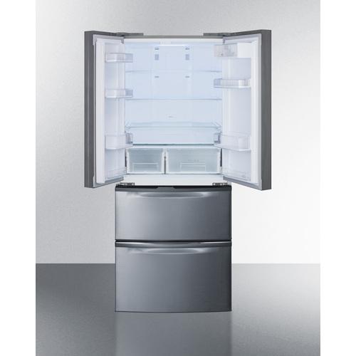 FDRD15SS Refrigerator Freezer Open