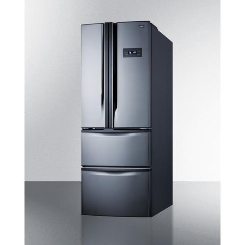 FDRD15SS Refrigerator Freezer Angle