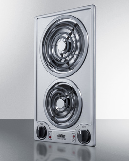 CCE227SS Electric Cooktop Angle