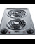 CCE227SS Electric Cooktop Detail