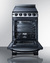 REX2071SSRT Electric Range Open
