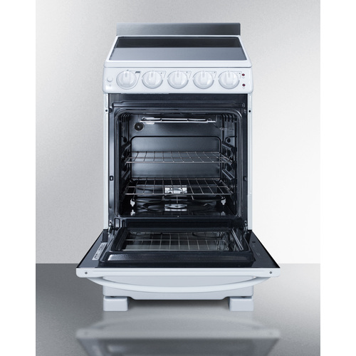 REX2051WRT Electric Range Open