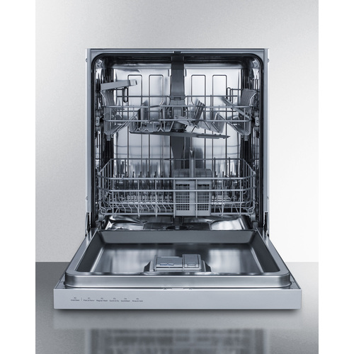 DW2435SS Dishwasher Open