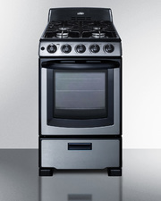 PRO201SS Gas Range Front