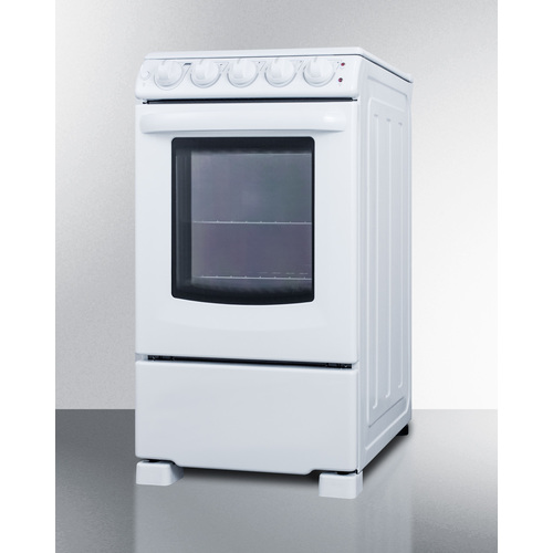 REX2051WRT Electric Range Angle