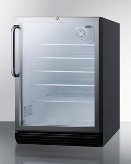 SCR600BGLBITBADA Refrigerator Angle