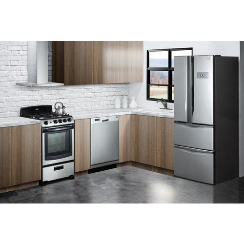 FDRD15SS Refrigerator Freezer Set