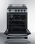 REX2451SSRT3 Electric Range Open