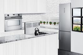FFBF192SSIM Refrigerator Freezer Set