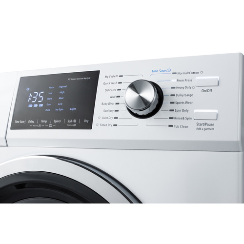 SPWD2202W Washer Dryer Detail