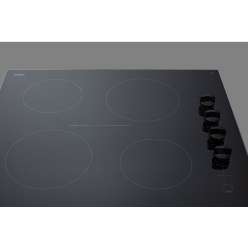CR4B242BL Electric Cooktop Detail